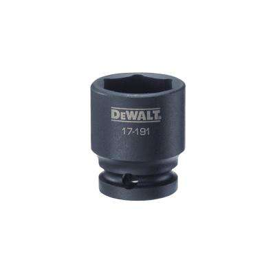 1/2 in. Drive 25 mm 6-Point Impact Socket