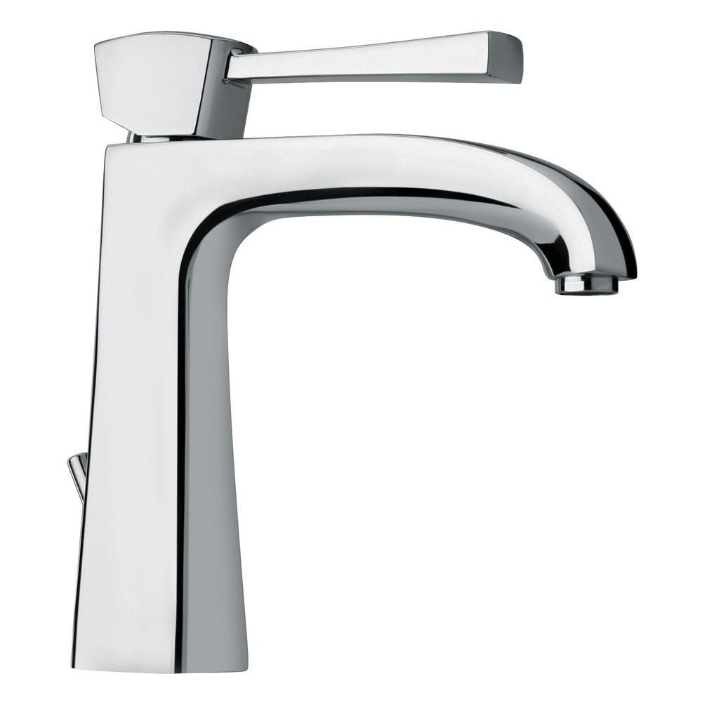 LaToscana Lady Single Hole 1-Handle Low-Arc Bathroom Faucet in Chrome