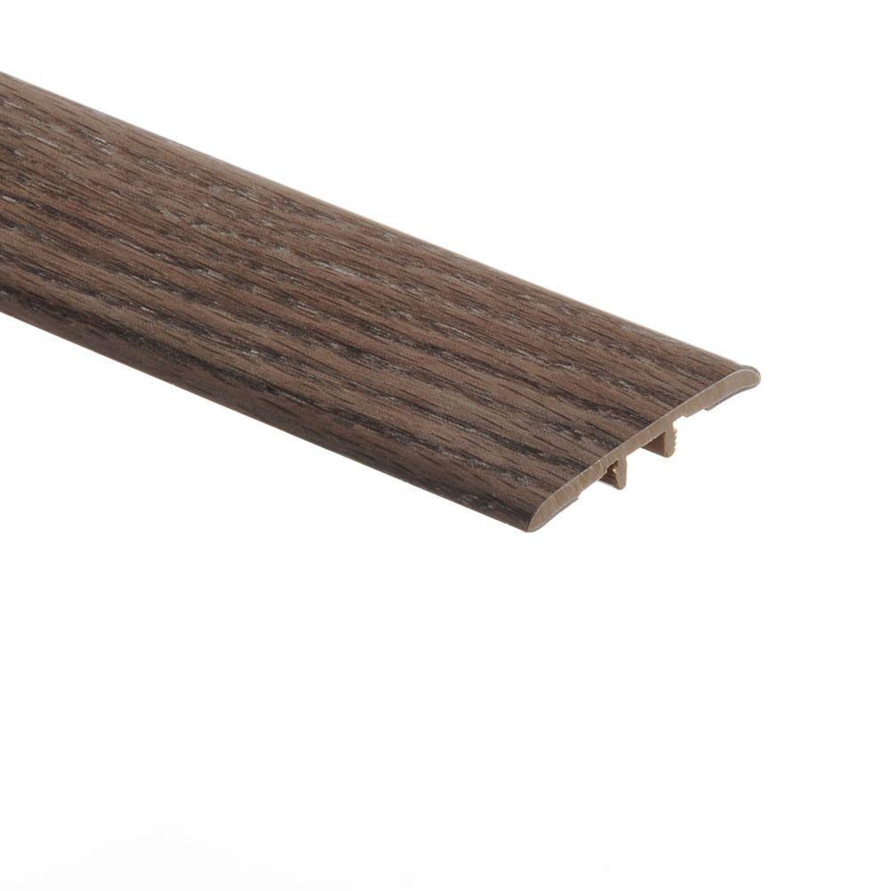 Zamma Grey Oak 5/16 in. Thick x 1-3/4 in. Wide x 72 in. Length Vinyl T-Molding