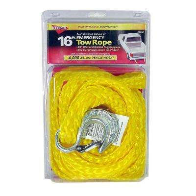 "16' x 3/4"" x 8,700 lbs. Tow Rope"