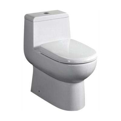 Antila 1-piece 0.8 / 1.6 GPF Dual Flush Elongated Toilet in White