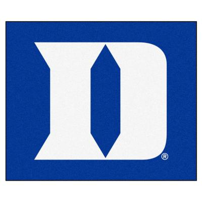 NCAA Duke University Blue 5 ft. x 8 ft. Indoor Tailgater Area Rug
