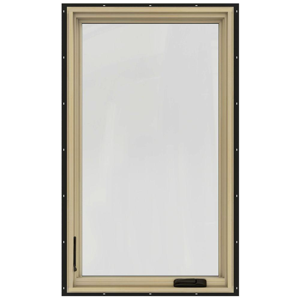 Jeld wen 28 3 4 in x 48 3 4 in w 2500 left hand casement for 12x48 window