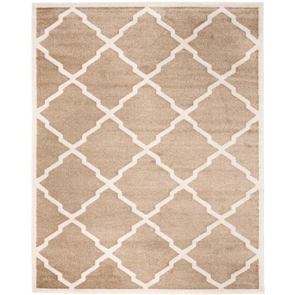 Safavieh Amherst Wheat Beige 9 Ft X 12 Indoor Outdoor Area