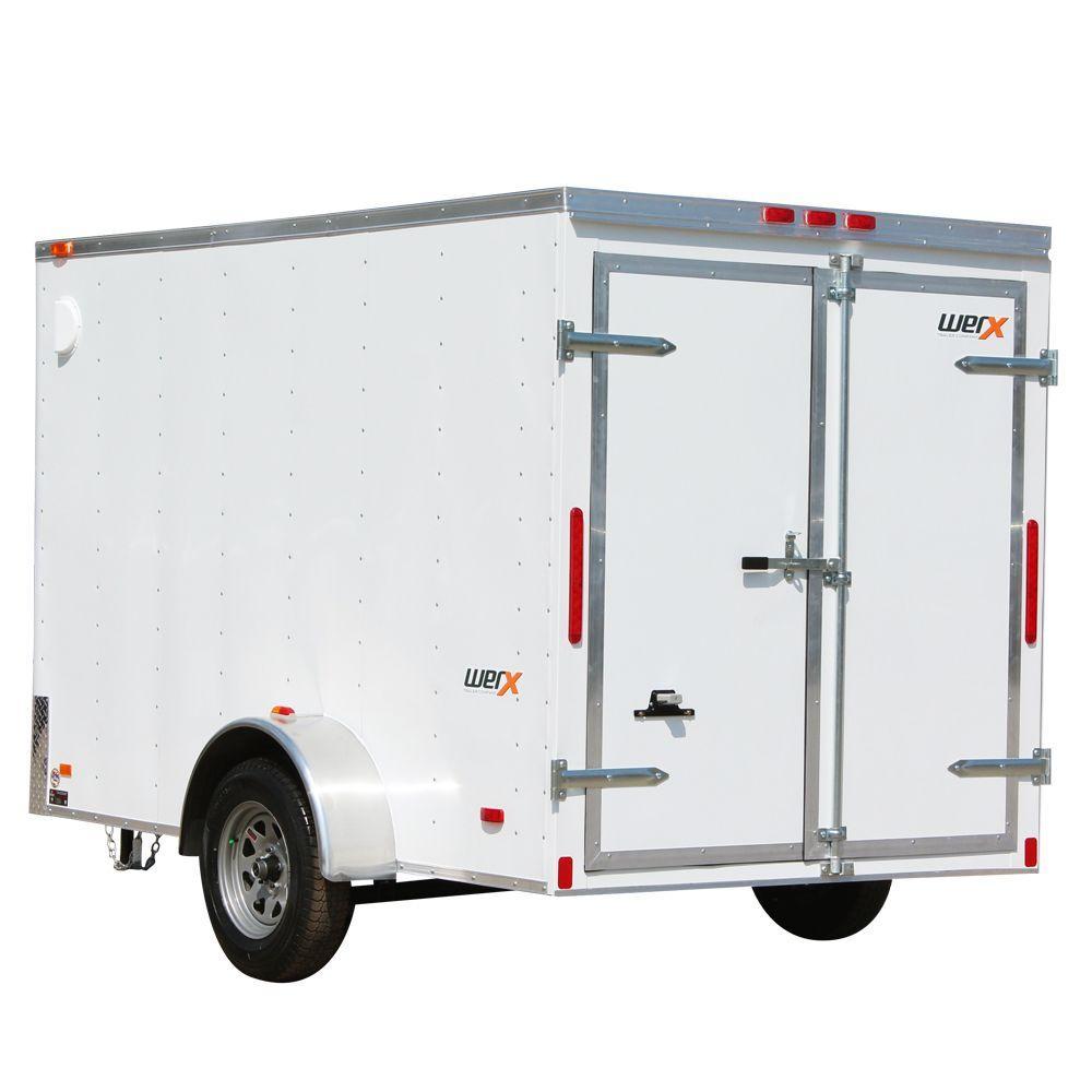 WERX 2005 Lb. Enclosed Cargo Trailer-WX610