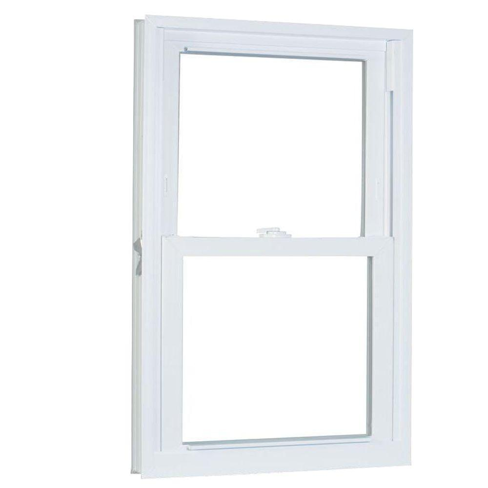 31.75 in. x 57.25 in. 70 Series Pro Double Hung White