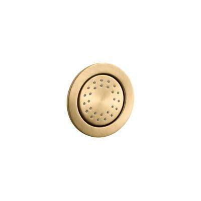 WaterTile Body Sprayer in Vibrant Modern Brushed Gold