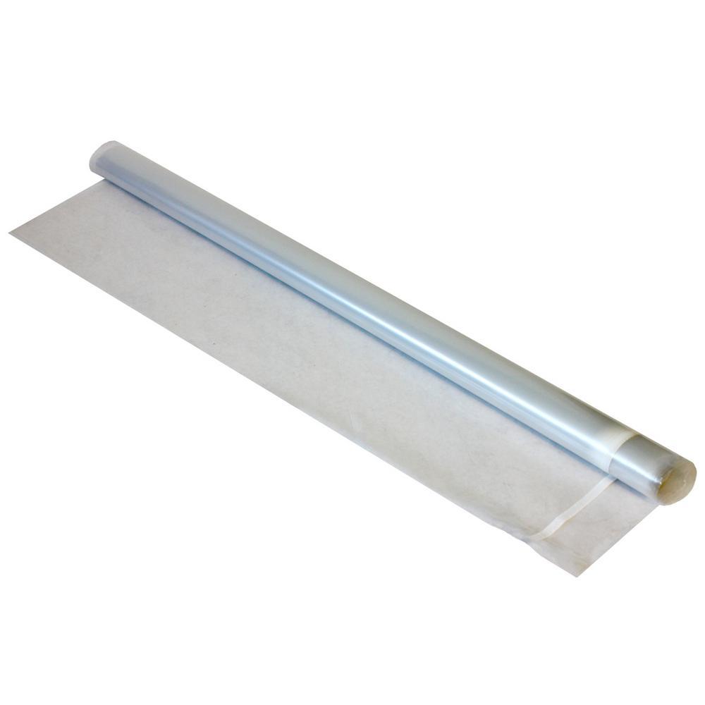 CalFlor VaporBlock 150 sq  ft  6 ft  x 25 ft  x 0 006 in  Polyethylene  Vapor Barrier Underlayment for Hardwood Laminate Floors