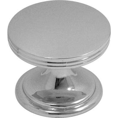 American Diner 1-3/8 in. Chrome Cabinet Knob