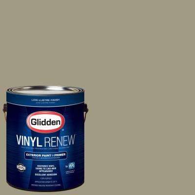 1 gal. #HDGWN64 Khaki Green Low-Lustre Exterior Paint with Primer