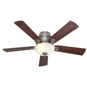 Hunter Princeton 52 inch Antique Pewter Indoor Ceiling Fan by Hunter