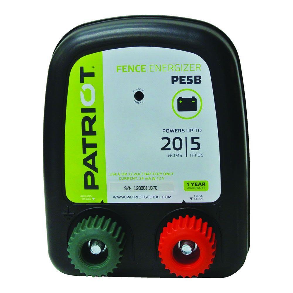 PE5B Battery Energizer - 0.20 Joule