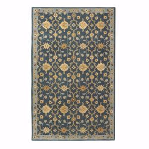 Home Decorators Collection Vogue Teal Blue 9 ft x 12 ft Area Rug