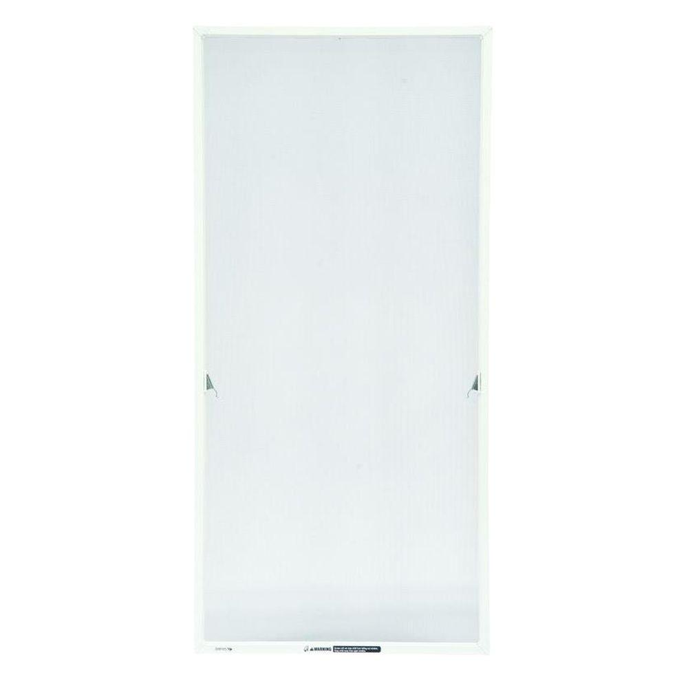 Andersen 20-11/16 in. x 55-13/32 in. White Aluminum Casement Insect Screen