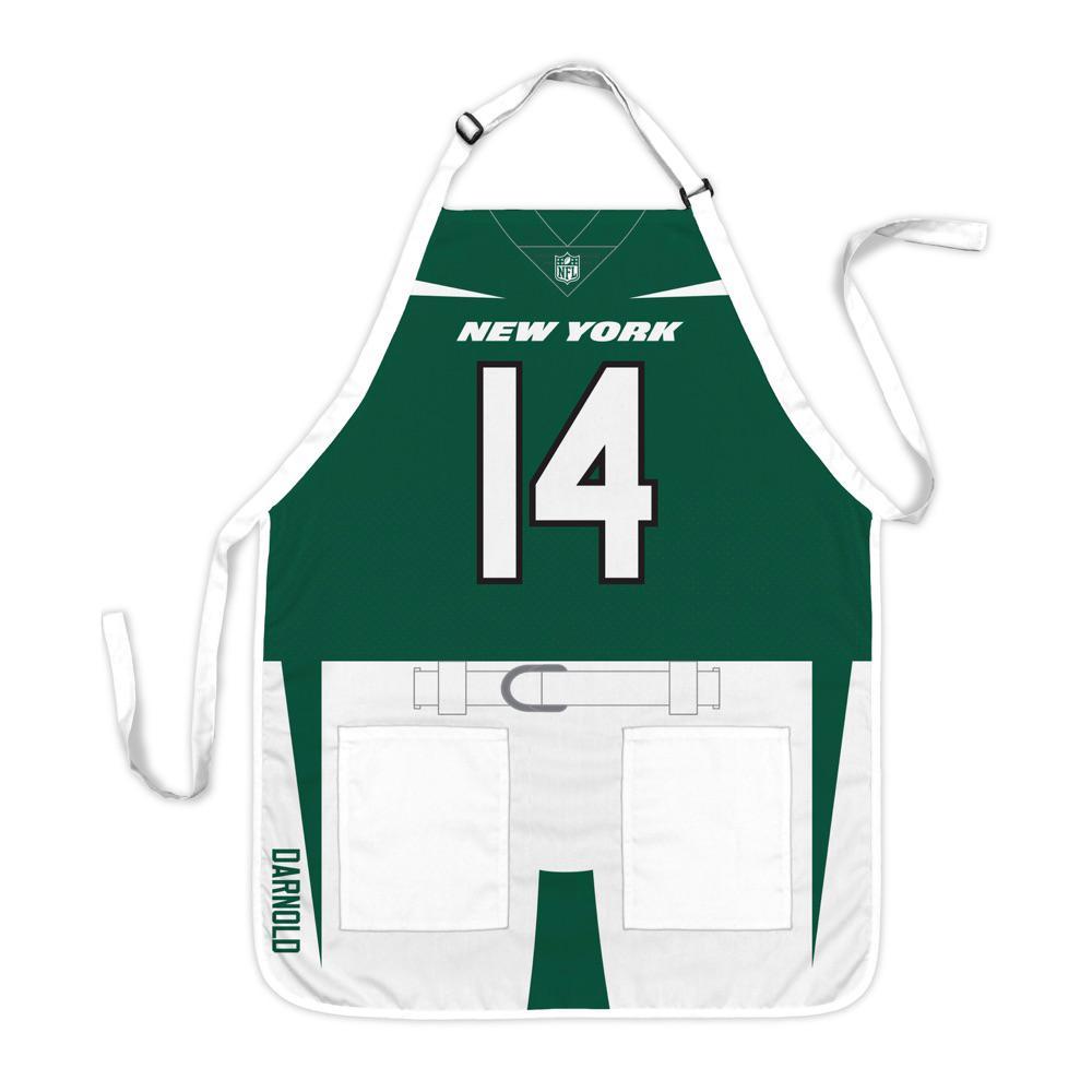 buy online 2c40c 9b082 Party Animal Sam Darnold New York Jets NFL Jersey Apron