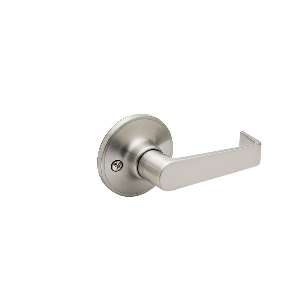 Avery Satin Stainless Dummy Door Lever