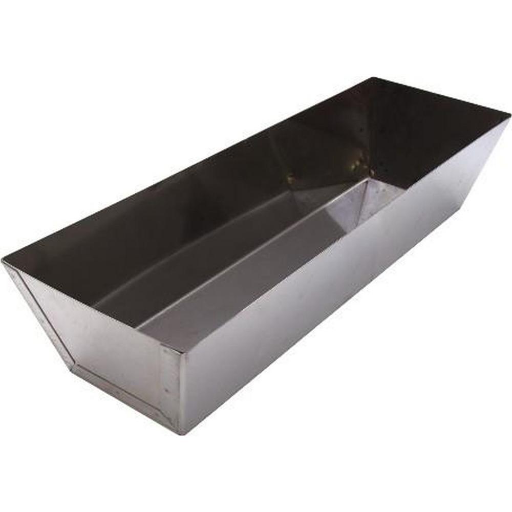 12 in. Stainless Steel Mud Pan