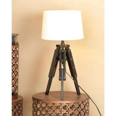 23 in. New Traditional Tripod Table Lamp