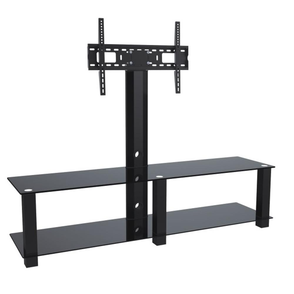 Proht 2 Shelf Media Stand With 32 In 70 In Tv Mount 05447 The