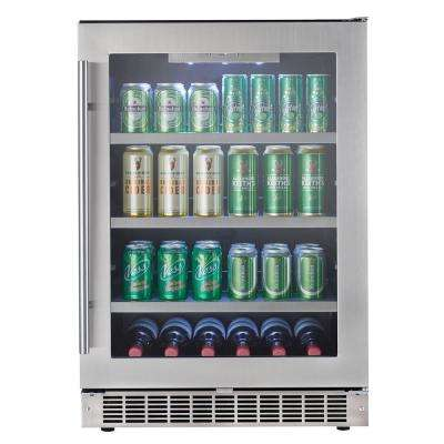 23.82 in. 126 (12 oz.) Can Beverage Cooler