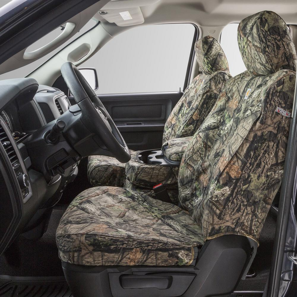 Fantastic Covercraft Carhartt Seat Saver 2Nd Row Custom Fit Seat Cover Mossy Oak Break Up Country Fits Double Cab 60 40 Split Bench Seat Dailytribune Chair Design For Home Dailytribuneorg