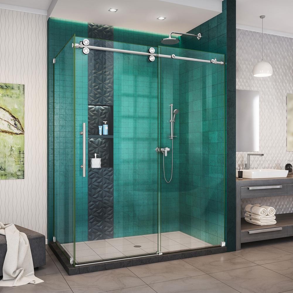 Bronze - Bypass/Sliding - Corner Shower Doors - Shower Doors - The ...