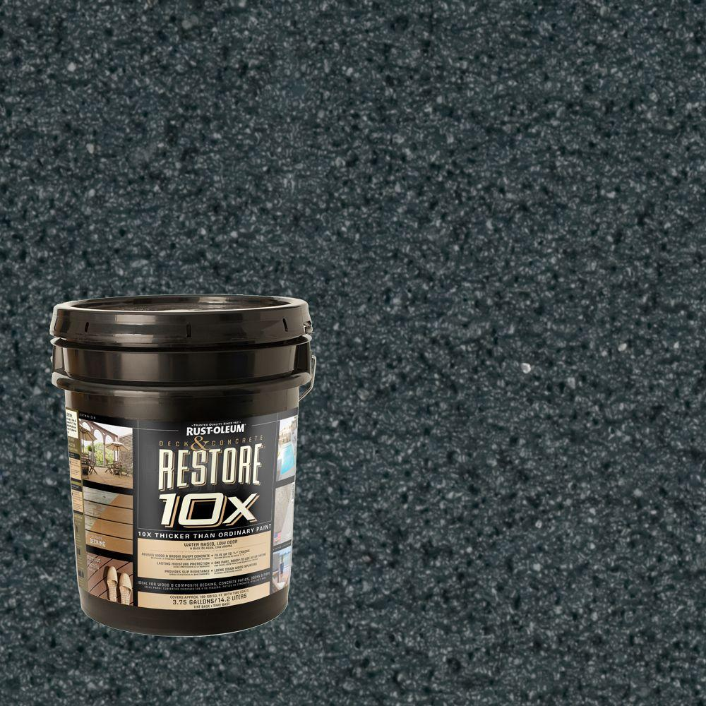 Rust-Oleum Restore 4-gal. Cobalt Deck and Concrete 10X Resurfacer