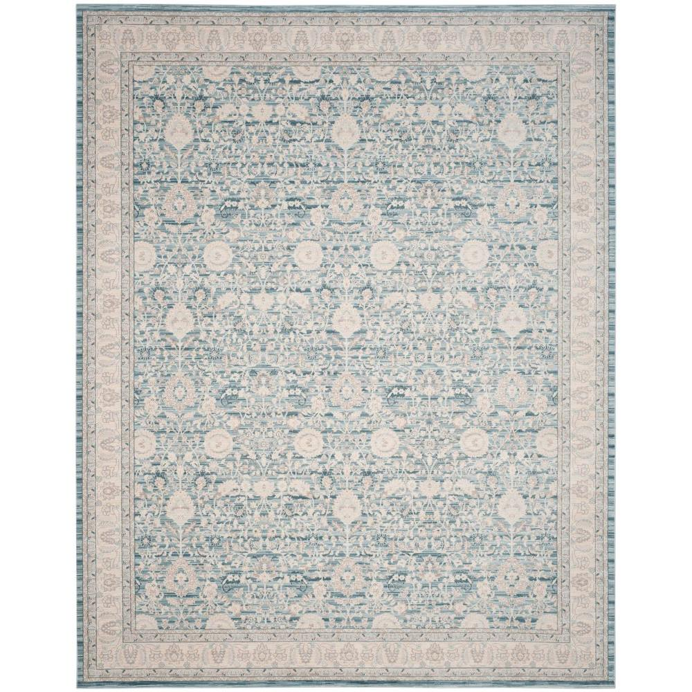 Safavieh Archive Blue Grey 8 Ft X 10 Ft Area Rug Arc672b