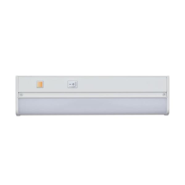 Direct Wire 13 in. LED White Aluminum CCT Changing Under Cabinet Light