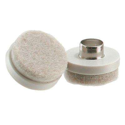 1 in. Nail-On Glides with Heavy Duty Felt Pads (8 per Pack)