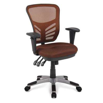 Brighton Office Chair in Brown