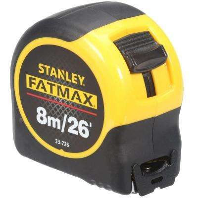 FATMAX 8m/26 ft. x 1-1/4 in. Tape Measure (Metric/English Scale)