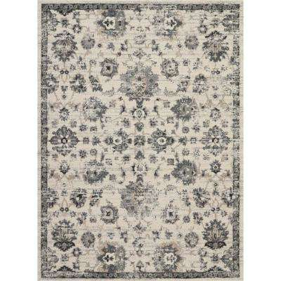 Fusion Vintage Cream/Grey 7 ft. 10 in. x 10 ft. 6 in. Area Rug
