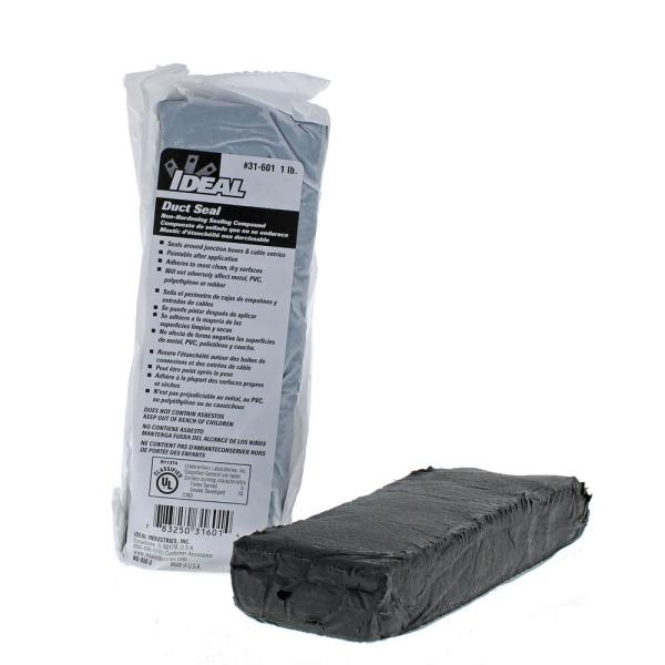 Ideal 1 lb. Block Duct Seal Compound (Standard Pack 6 Blocks)