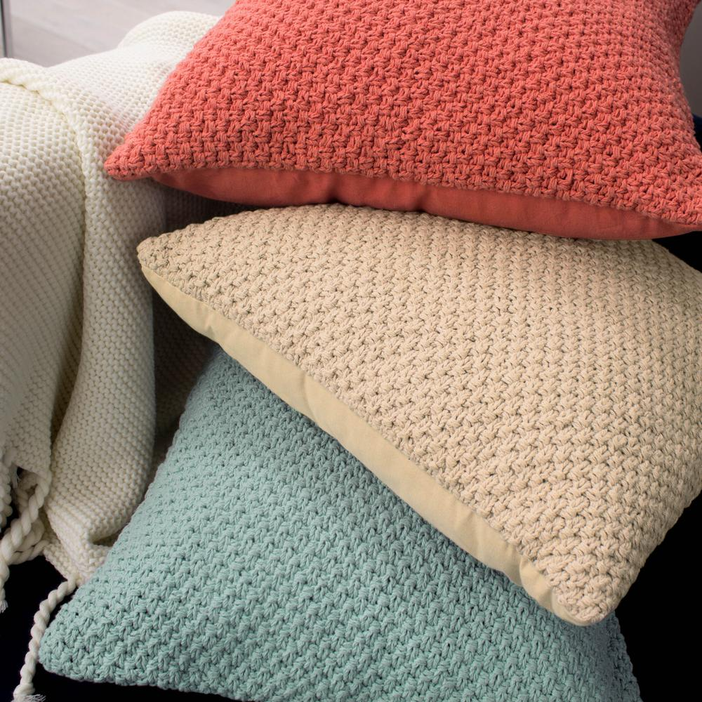 Kelsey Decorative Pillow in Ivory
