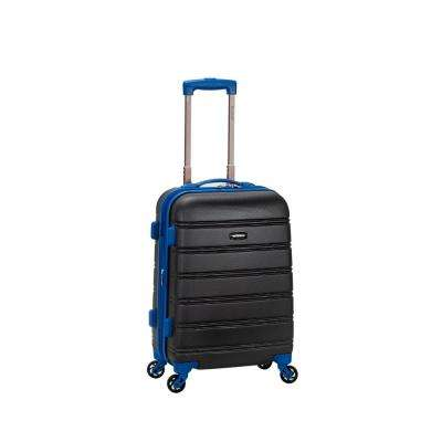 Melbourne 20 in. Expandable Carry on Hardside Spinner Luggage, Grey