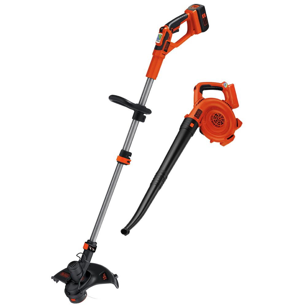 40-Volt MAX Cordless Lithium-Ion String Trimmer/Sweeper Combo Kit (2-Tool)