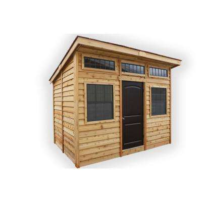 12 ft. x 8 ft. Studio Garden Shed