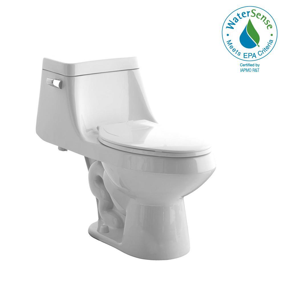 American Standard Fairfield 1 Piece 1 28 Gpf Single Flush