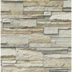 Stone Vinyl Strippable Roll (Covers 30.75 sq. ft.)