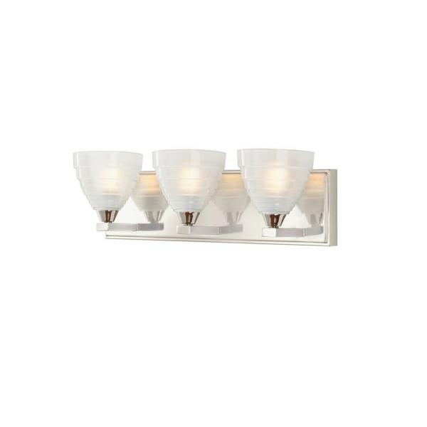 Bovoni 3-Light Polished Nickel Vanity Light