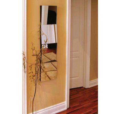 nexxt Asti 12 in. x 12 in. Connecting Mirror (Set of 4)