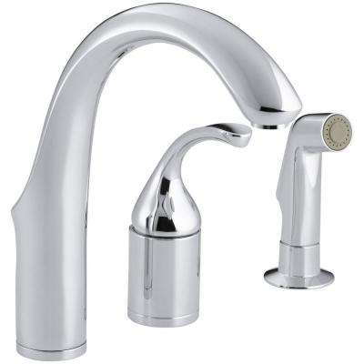 Forte Single Handle Bar Faucet in Polished Chrome
