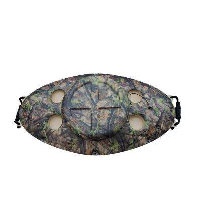 30 qt. Outdoor Insulated Floating Cooler in Camo Timber Brush