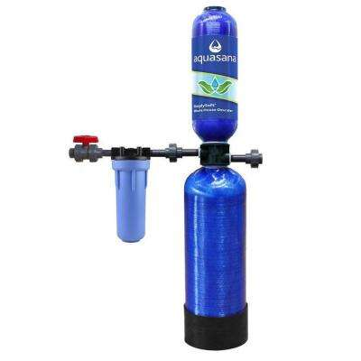SimplySoft Series 600,000 Gal. Whole House Salt-Free Water Softener with Pre-Filter and Install Kit
