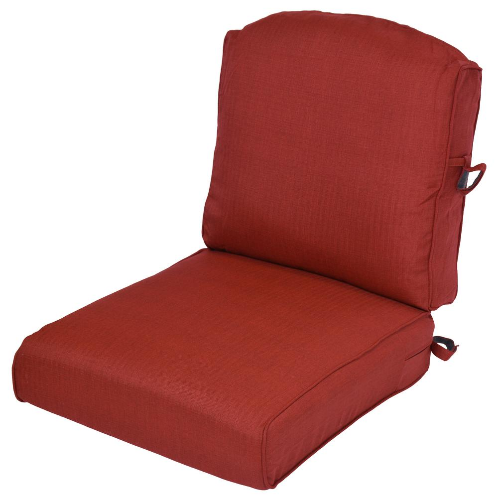 Chili 2-Piece Deep Seating Outdoor Lounge Chair Cushion (2-Pack)