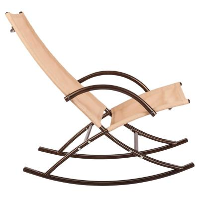 Chamonix Steel Outdoor Rocking Chair