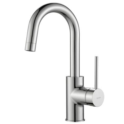 Oletto Single-Handle Kitchen Bar Faucet in Chrome