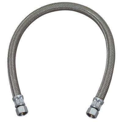 3/8 in. Compression x 3/8 in. Compression x 20 in. Braided Polymer Dishwasher Connector