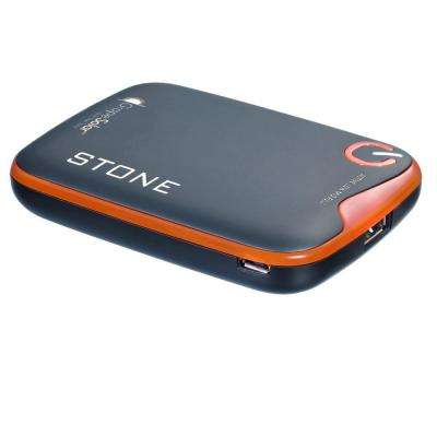 Stone 5200 mAh Rechargeable Lithium Portable Battery Pack for Cell Phones, Smartphones and Other Portable Electronics